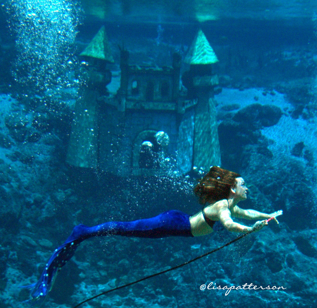video from a trip to see the real mermaids sea play photography
