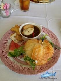 Circa in Senaca, chicken salad